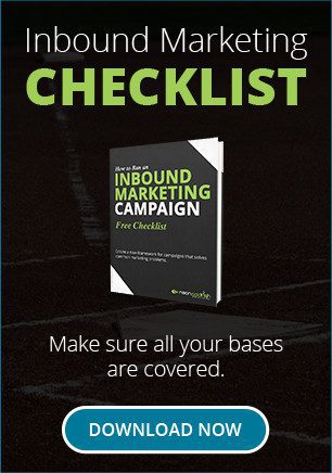 Inbound Marketing Checklist: Make sure all your bases are covered.