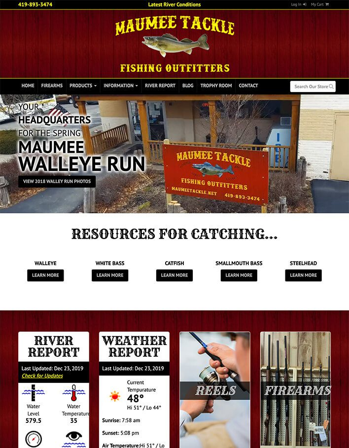 Maumee Tackle Fishing Outfitters Post Thumbnail