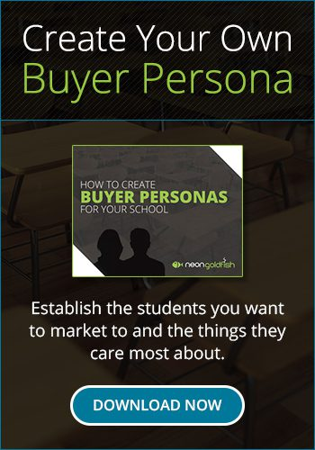 Buyer Persona Creation for Education