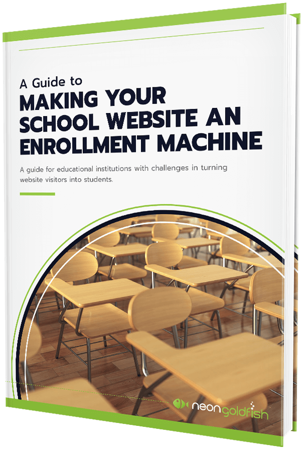 Education Enrollment Machine Content Offer